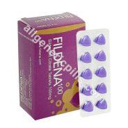 Fildena 100 mg (Sildenafil Citrate)