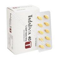Tadalista 40 mg (Tadalafil)