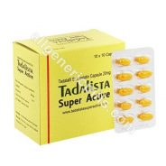 Tadalista Super Active 20mg (Tadalafil)