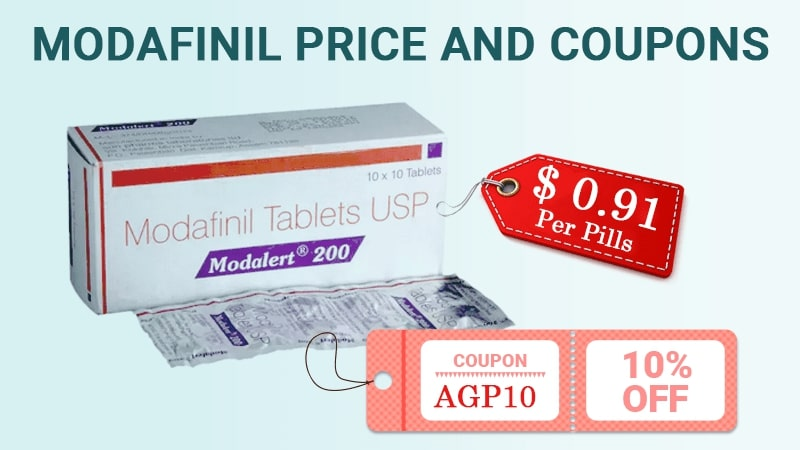 Modafinil Price and Coupons