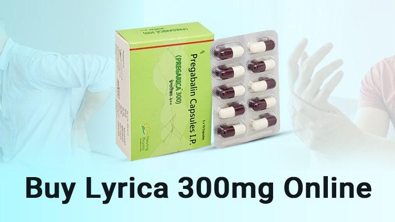 Buy Lyrica 300mg online