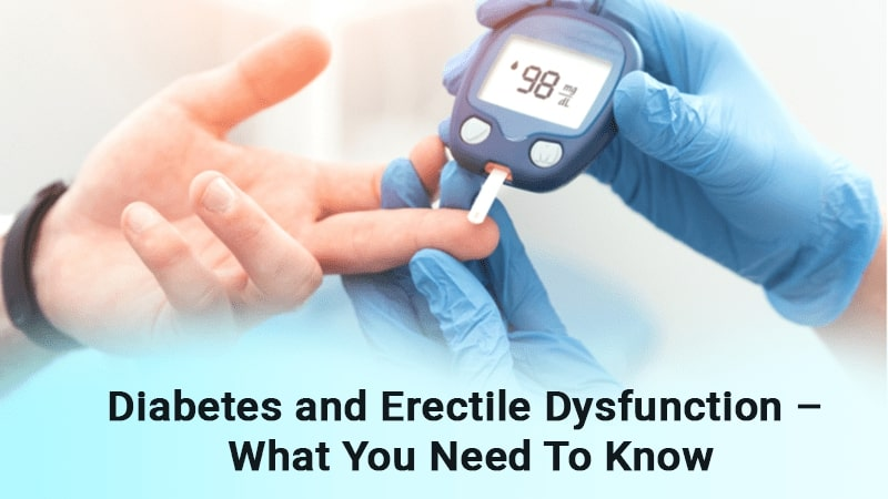 Diabetes and Erectile Dysfunction – What You Need To Know