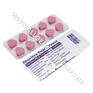 SNOVITRA SUPER POWER (Vardenafil/Dapoxetine)