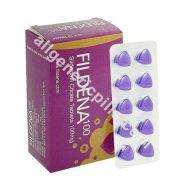 Purple Triangle Pill 100
