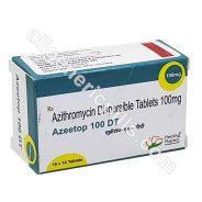 Azeetop 100 DT (Azithromycin)