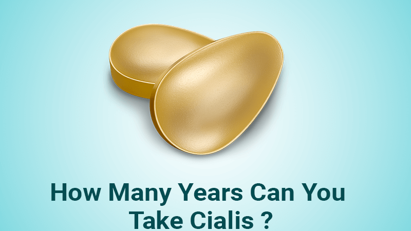 How many years can you take Cialis