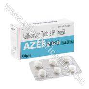 Azee 250Mg (Azithromycin)